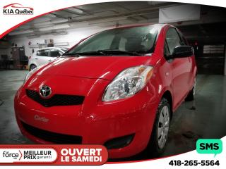 Used 2010 Toyota Yaris CE for sale in Québec, QC