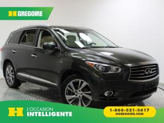 Used 2015 Infiniti QX60 AWD 4DR GPS for sale in St-Léonard, QC
