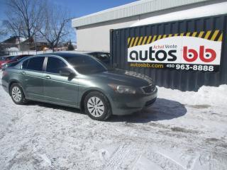 Used 2008 Honda Accord 4 portes 4 cyl. en ligne, boîte automati for sale in Laval, QC