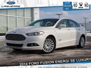 Used 2014 Ford Fusion Energi Se Cuir A/c for sale in Victoriaville, QC