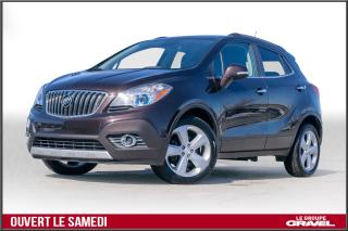 Used 2015 Buick Encore Cuir Sièges Ch. Cuir for sale in Ile-des-Soeurs, QC