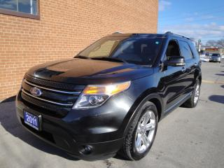 Used 2011 Ford Explorer LIMITED 7 PASSENGER for sale in Oakville, ON