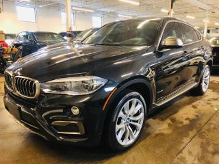 Used 2016 BMW X6 xDrive35i, RED INTERIOR, HUD, DRIVE ASSIST, NAVI for sale in Mississauga, ON