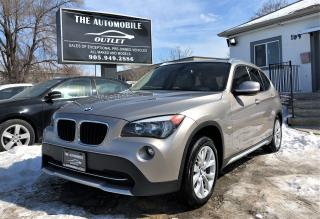 Used 2012 BMW X1 28i AWD PANO ROOF NO ACCIDENT for sale in Mississauga, ON