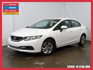 Used 2015 Honda Civic Lx+siègchauf+bluetoo for sale in Drummondville, QC