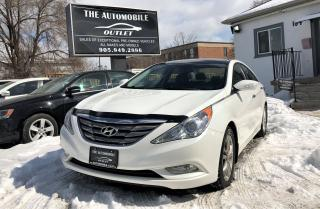 Used 2012 Hyundai Sonata LIMITED LEATHER PANO ROOF NO ACCIDENT for sale in Mississauga, ON