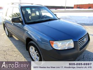Used 2007 Subaru Forester 2.5X - All Wheel Drive for sale in Woodbridge, ON
