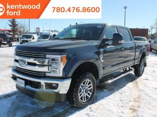 New 2019 Ford F-350 Super Duty SRW LARIAT, 4x4, Diesel, Heated/Cooled LEATHER seats, Reverse Camera, Text Start Remote, Navigation for sale in Edmonton, AB
