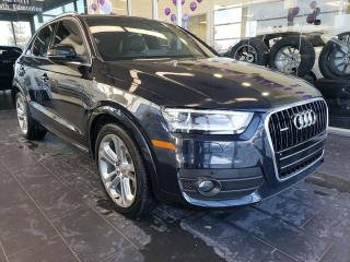 Used 2015 Audi Q3 TECHNIK, NAVI, SUNROOF, REAR VIEW CAMERA for sale in Edmonton, AB
