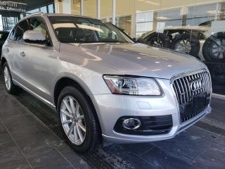 Used 2016 Audi Q5 TECHNIK, HEATED SEATS, NAVI, SUNROOF for sale in Edmonton, AB