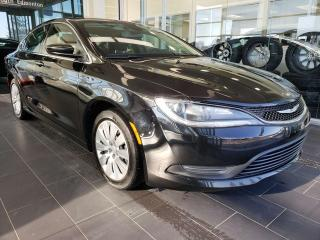 Used 2016 Chrysler 200 LX, ACCIDENT FREE, BLUETOOTH for sale in Edmonton, AB