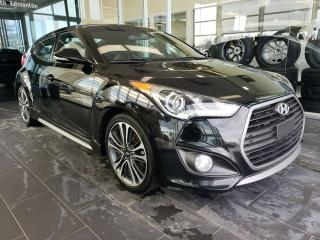 Used 2016 Hyundai Veloster TURBO, HEATED SEATS, SUNROOF, NAVI, REAR VIEW CAMERA for sale in Edmonton, AB