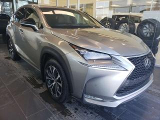 Used 2015 Lexus NX 200t FSPORT, HEATED SEATS, REAR VIEW CAMERA, NAVI for sale in Edmonton, AB