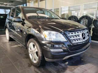 Used 2011 Mercedes-Benz ML-Class BLUETEC, SUNROOF, NAVI, REAR VIEW CAMERA for sale in Edmonton, AB