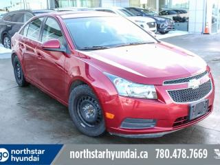 Used 2011 Chevrolet Cruze LT/TURBO/2SETSOFTIRES/SUNROOF/BACKUPCAM for sale in Edmonton, AB
