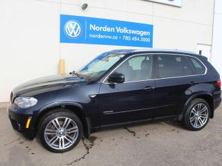 Used 2012 BMW X5 35i AWD - HEATED LEATHER SEATS / SUNROOF / NAVI for sale in Edmonton, AB