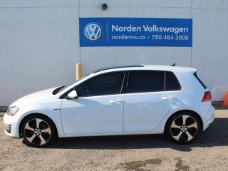 Used 2015 Volkswagen Golf GTI 2.0 TSI 5DR AUTOBAHN MANUAL W/ TECH PKG - CLOTH SPORT SEATS / VW CERTIFIED for sale in Edmonton, AB