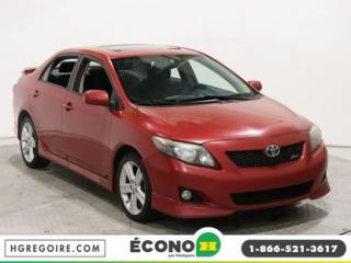 Used 2010 Toyota Corolla XRS A/C TOIT GR for sale in St-Léonard, QC