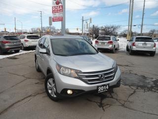 Used 2014 Honda CR-V Touring AWD GPS NAVIGATION B-TOOTH BACKUP A/C PW for sale in Oakville, ON