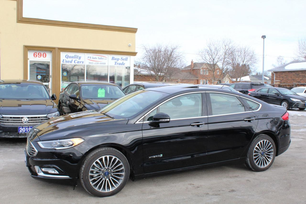 2018 Ford Fusion Titanium Hybrid
