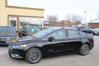 Used 2018 Ford Fusion Titanium Hybrid for sale in Brampton, ON