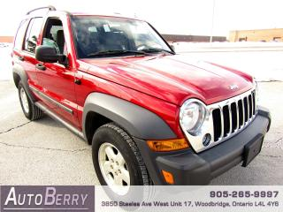 Used 2006 Jeep Liberty 4WD - 3.7L for sale in Woodbridge, ON