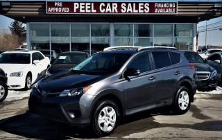 Used 2014 Toyota RAV4 LE|REARVIEW|ALLOYS|GREYONBLK for sale in Mississauga, ON