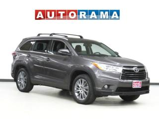 Used 2015 Toyota Highlander XLE NAVI 7 PASS LEATHER PAN SUNROOF BACK UP CAM for sale in Toronto, ON