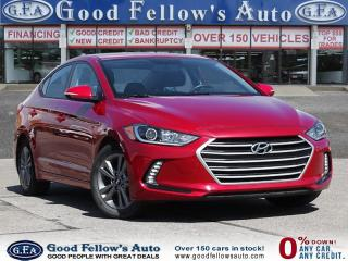 Used 2017 Hyundai Elantra DRIVER ASSIST, REARVIEW CAMERA, HEATED SEATS for sale in Toronto, ON