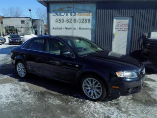 Used 2008 Audi A4 ***S-LINE,4X4,CUIR,TOIT OUVRANT*** for sale in Longueuil, QC