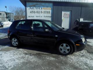 Used 2003 Volkswagen Golf ***CL,AUTOMATIQUE,FIABLE*** for sale in Longueuil, QC