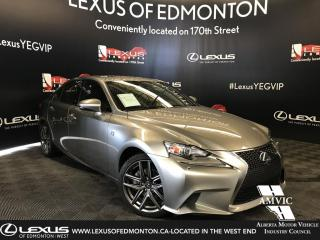 Used 2015 Lexus IS 250 F Sport Series 2 for sale in Edmonton, AB