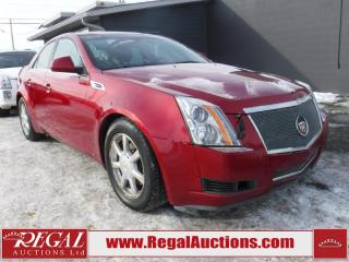 Used 2008 Cadillac CTS 4 4D Sedan for sale in Calgary, AB