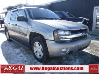 Used 2003 Chevrolet TrailBlazer 4D Utility EXT 4WD for sale in Calgary, AB