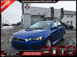 Used 2016 Mitsubishi Lancer ES AWC/AWD 2.4L PADDLE SHIFT SIEGES CHF for sale in Blainville, QC