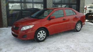 Used 2010 Toyota Corolla CE for sale in Sherbrooke, QC