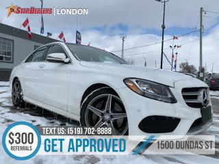 Used 2016 Mercedes-Benz C-Class | RED LEATHER | NAV | PANO ROOF | CAM for sale in London, ON