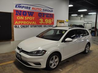 Used 2018 Volkswagen Golf Wagon *SPORTWAGEN* for sale in London, ON