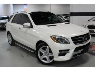 Used 2014 Mercedes-Benz ML-Class ML350 BlueTEC 4MATIC   AMG   FULLY LOADED for sale in Vaughan, ON