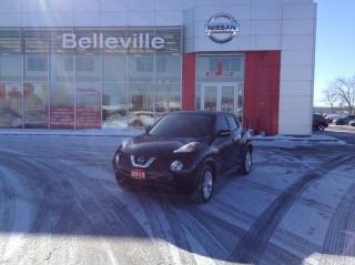 Used 2015 Nissan Juke SV MANUAL 1 OWNER LOCAL TRADE for sale in Belleville, ON