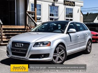 Used 2009 Audi A3 2.0T FWD 6 SPEED PANO ROOF H.SEATS ALLOYS WOW!! for sale in Ottawa, ON