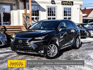 Used 2017 Lexus NX 200t LUXURY PKG LTHER ROOF NAV BLIS WOW!! for sale in Ottawa, ON