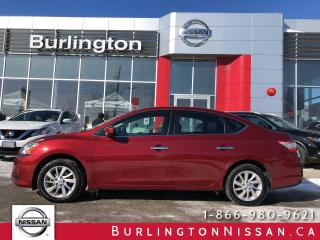 Used 2015 Nissan Sentra SV, ACCIDENT FREE, 1 OWNER, LOW KM'S ! for sale in Burlington, ON