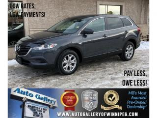 Used 2015 Mazda CX-9 GS *AWD/Bluetooth/Htd Seats/Backup Cam for sale in Winnipeg, MB