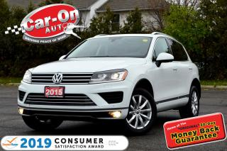Used 2015 Volkswagen Touareg 3.6L Outdoors Pkg LEATHER NAVI PANO ROOF REAR CAM for sale in Ottawa, ON