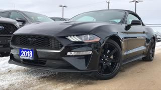 Used 2018 Ford Mustang PREMIUM 2.3L I4 ECO LEATHER NAVIGATION HEATED... for sale in Midland, ON