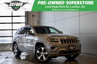 Used 2014 Jeep Grand Cherokee Overland - one owner, serviced religiously, awesom for sale in London, ON