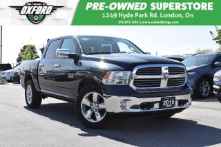 Used 2015 RAM 1500 SLT - One Owner, EcoDiesel, loaded for sale in London, ON