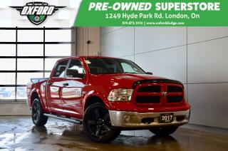 Used 2017 RAM 1500 SLT - Gold Plan Warranty, HEMI, Cold Weather Group for sale in London, ON