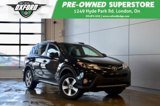Used 2015 Toyota RAV4 XLE - One Owner, Well Maintained, Sunroof for sale in London, ON